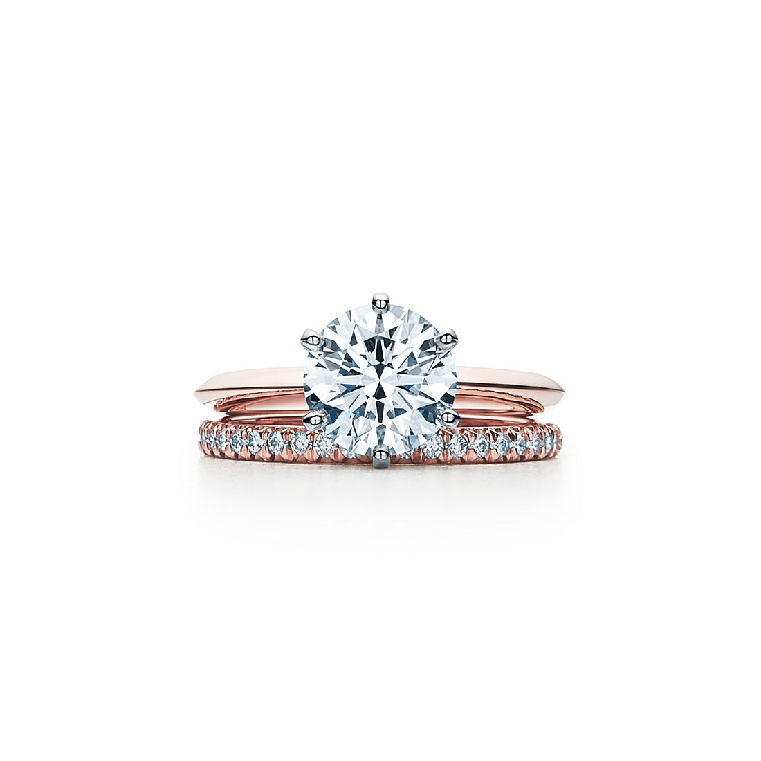 2 04 Ct Shown With Tiffany Solesteband Ring View Wedding Band De S