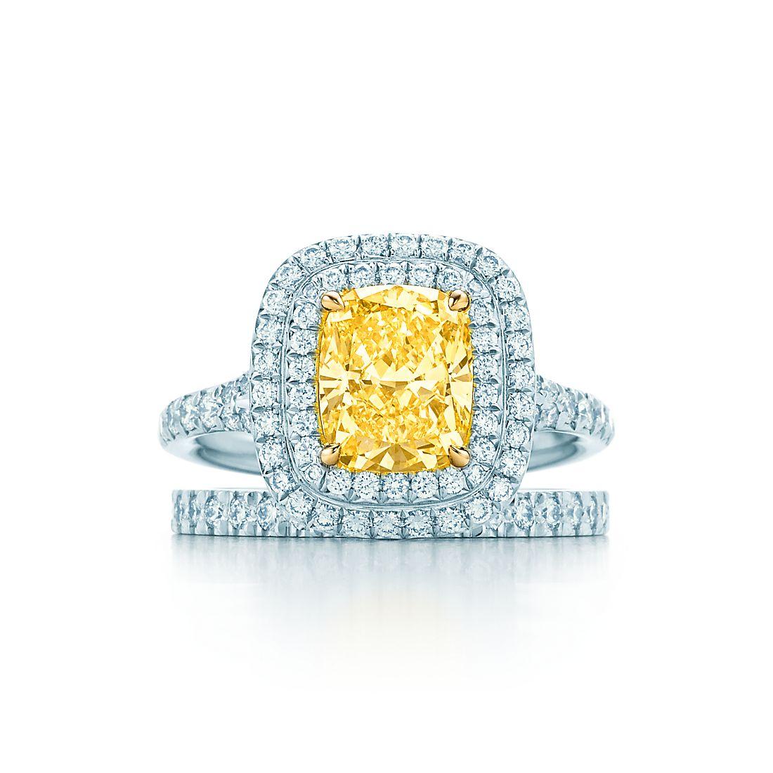 Diamond Yellow engagement rings tiffany 2019