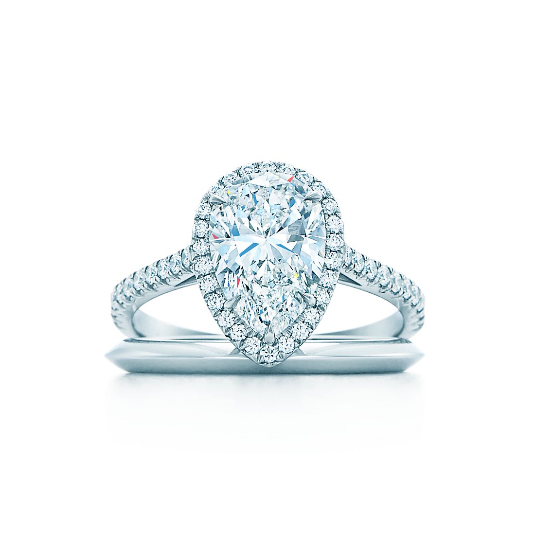 ring rings pin pear diamond engagement gorgeous