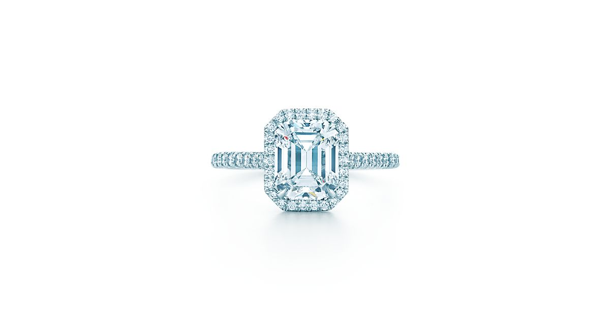 Tiffany Soleste Emerald Cut Engagement Rings Tiffany Amp Co