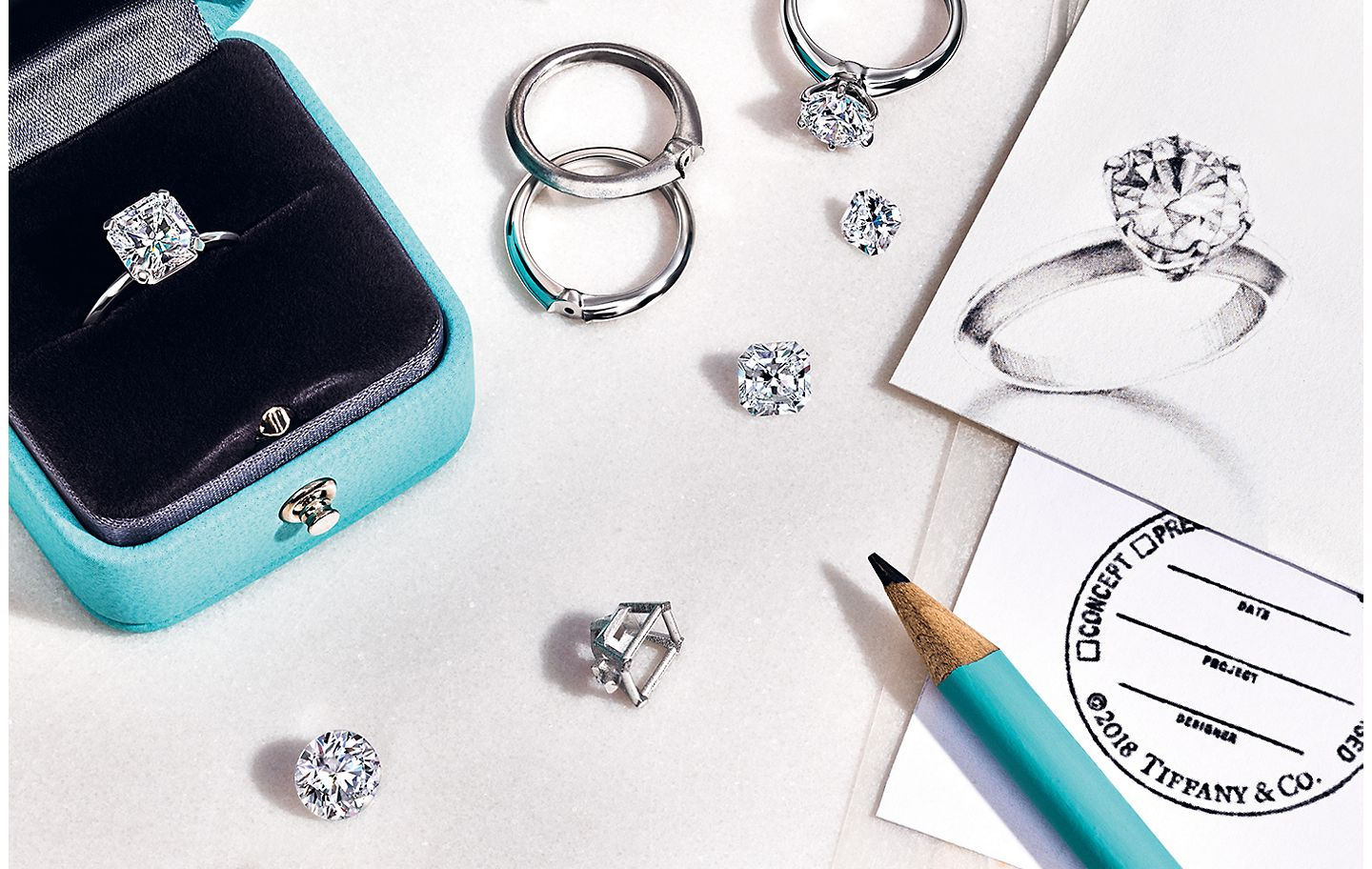 Tiffany & Co. Engagement Ring Customization