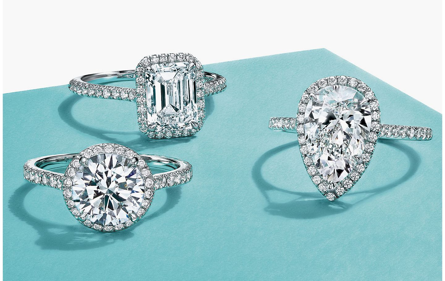 Tiffany & Co. Halo Engagement Rings