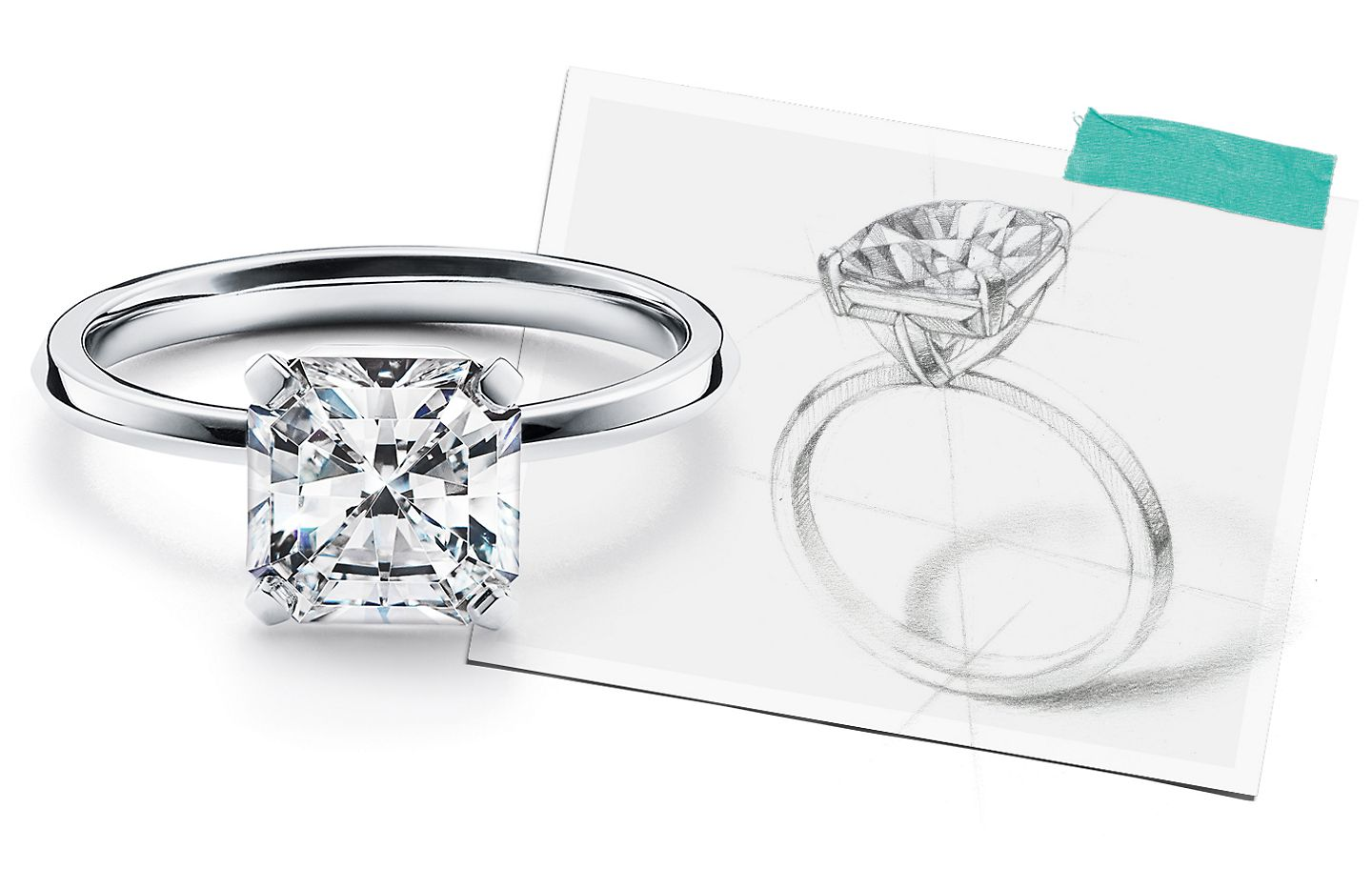Tiffany & Co. Tiffany True® Diamond Engagement Rings