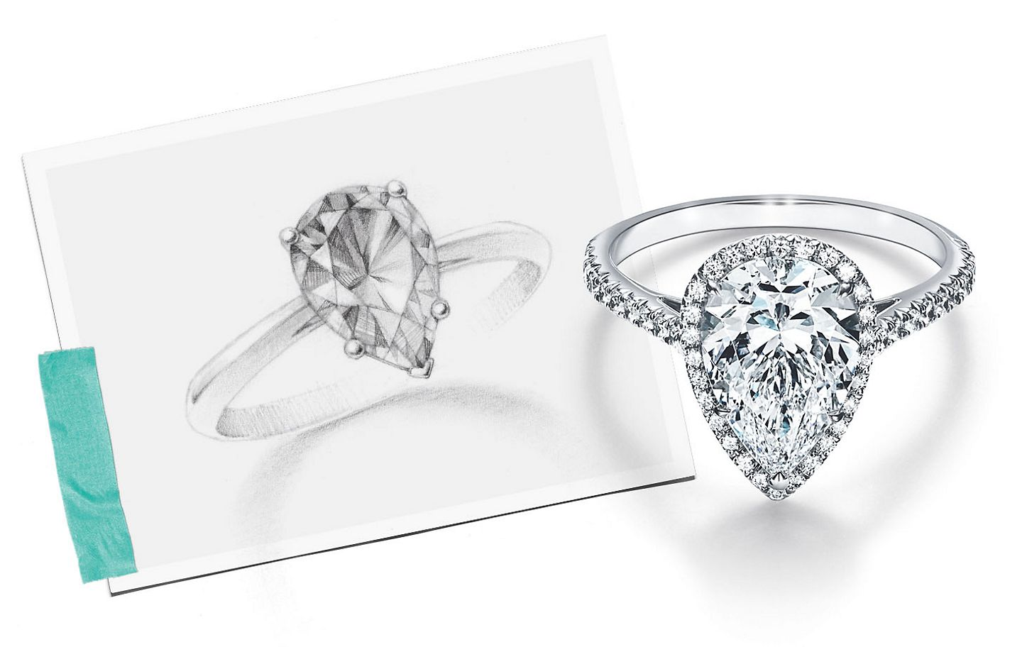 Tiffany & Co. Pear-shaped Diamonds