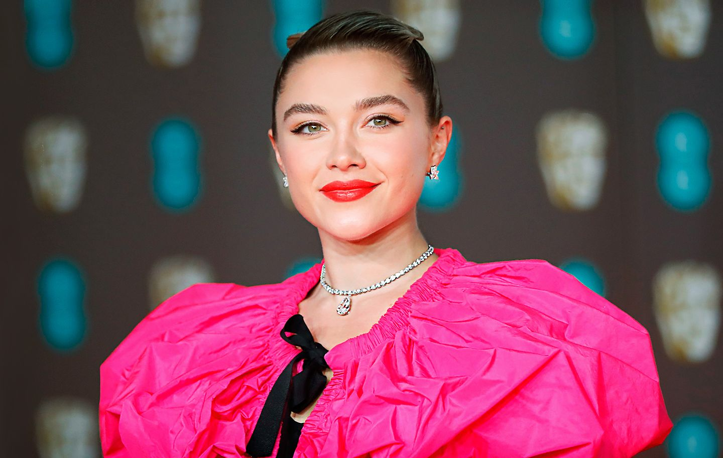 Florence Pugh in Tiffany Diamonds