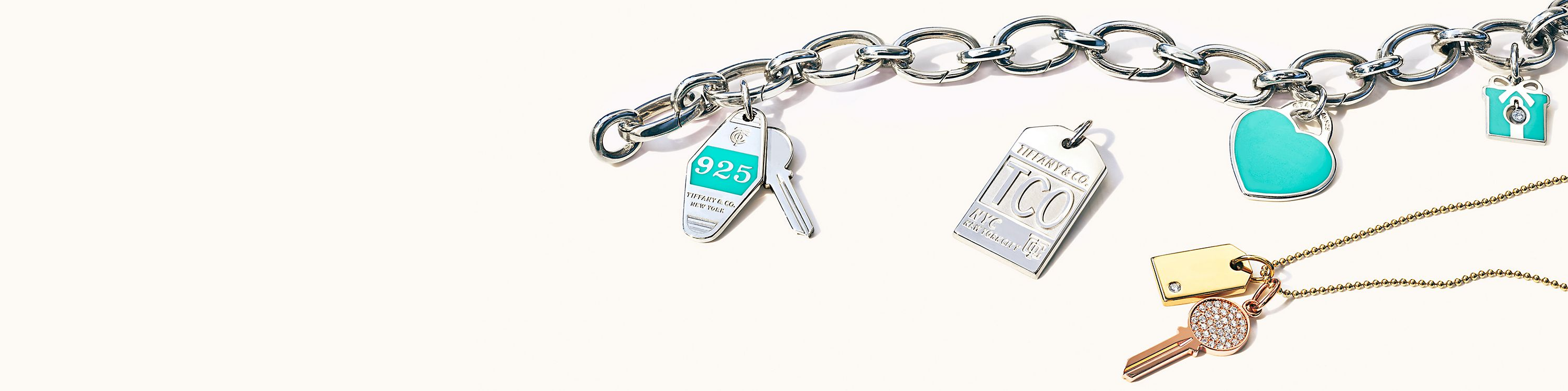 48565789c40e4 Charms | Customise Bracelets & Necklaces | Tiffany & Co.
