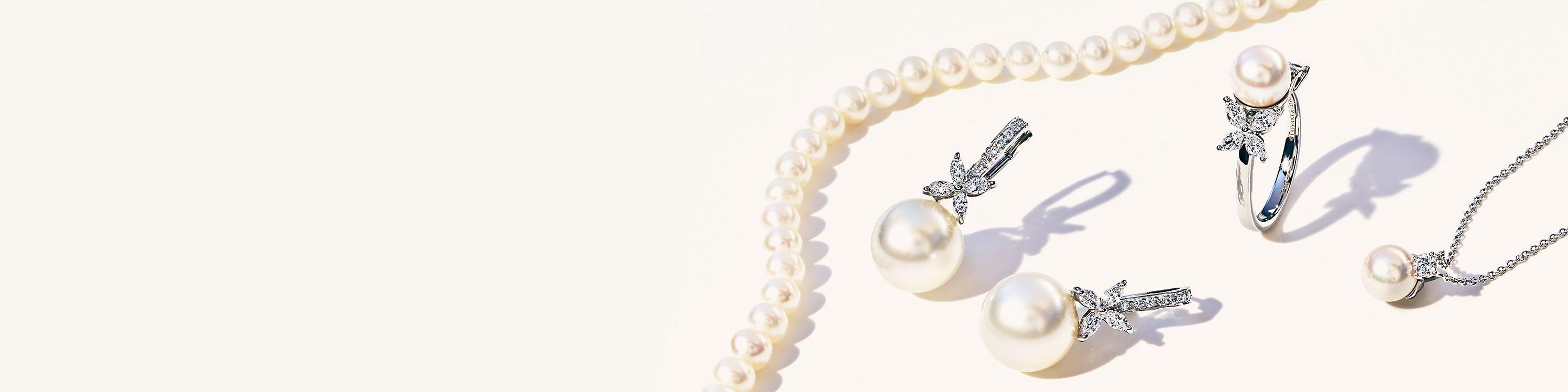 09ddcfd4143f5 Pearl Jewelry | Tiffany & Co.