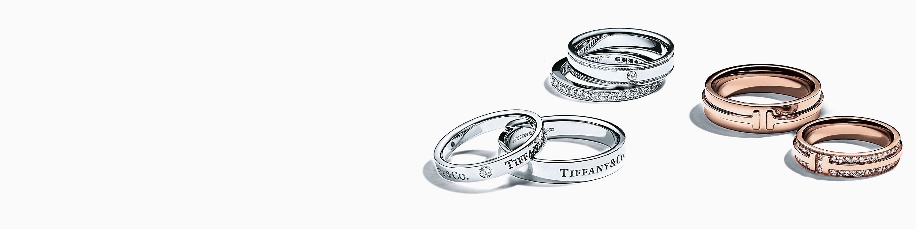 Ver sets de alianzas de boda de Tiffany & Co.