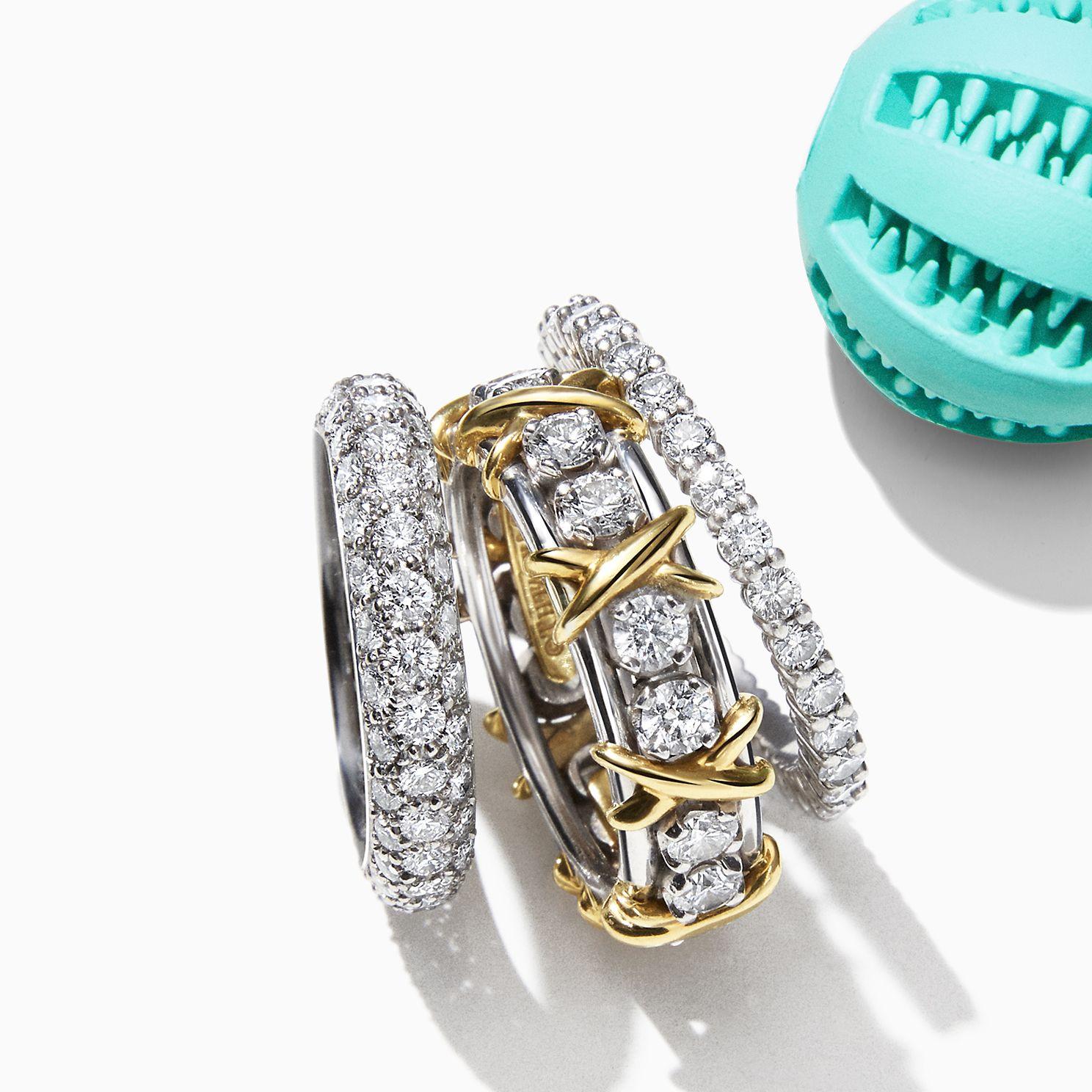 Tiffany Celebration Anniversary Rings Tiffany Co