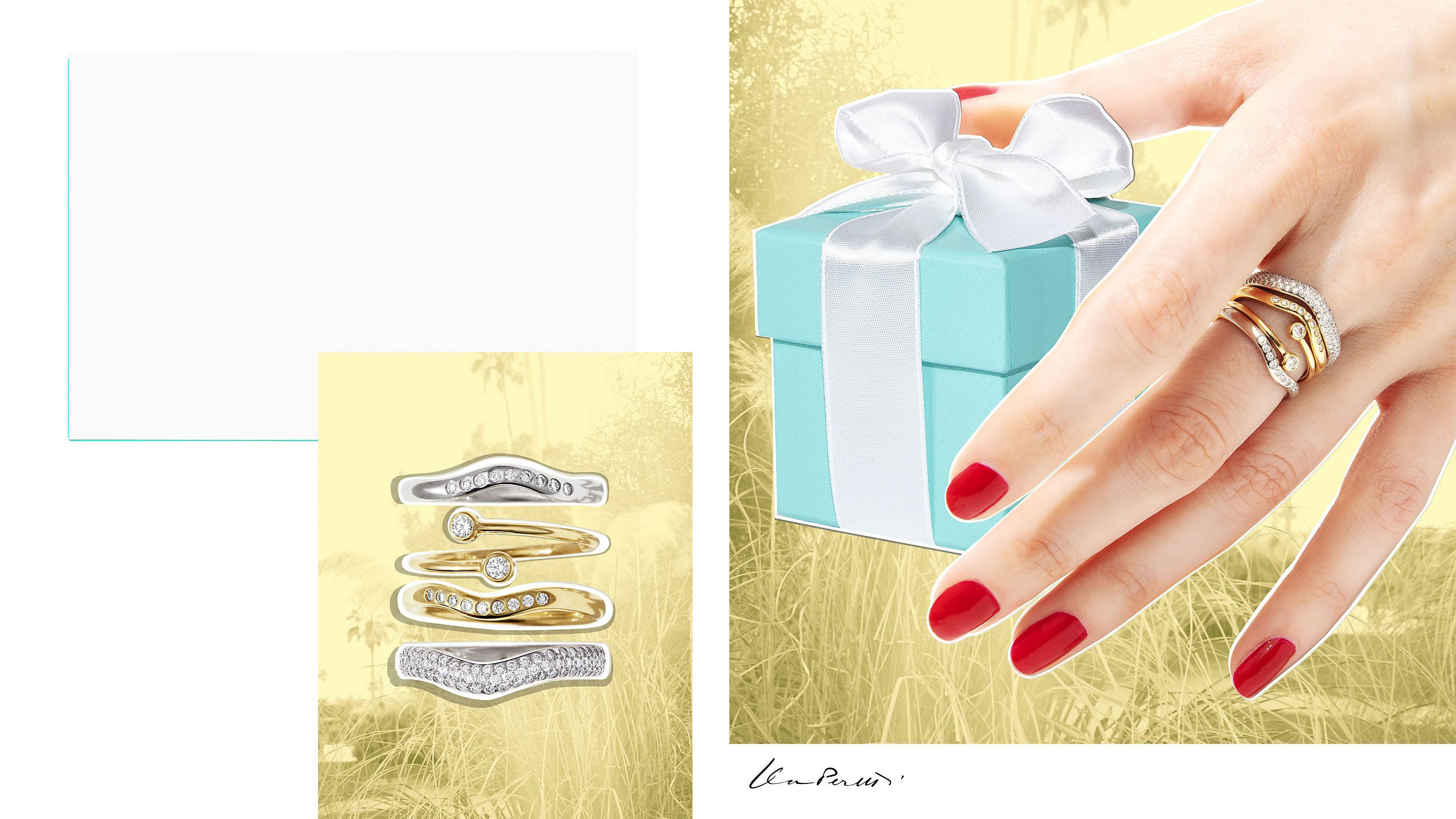 Anéis Tiffany & Co. Celebration™