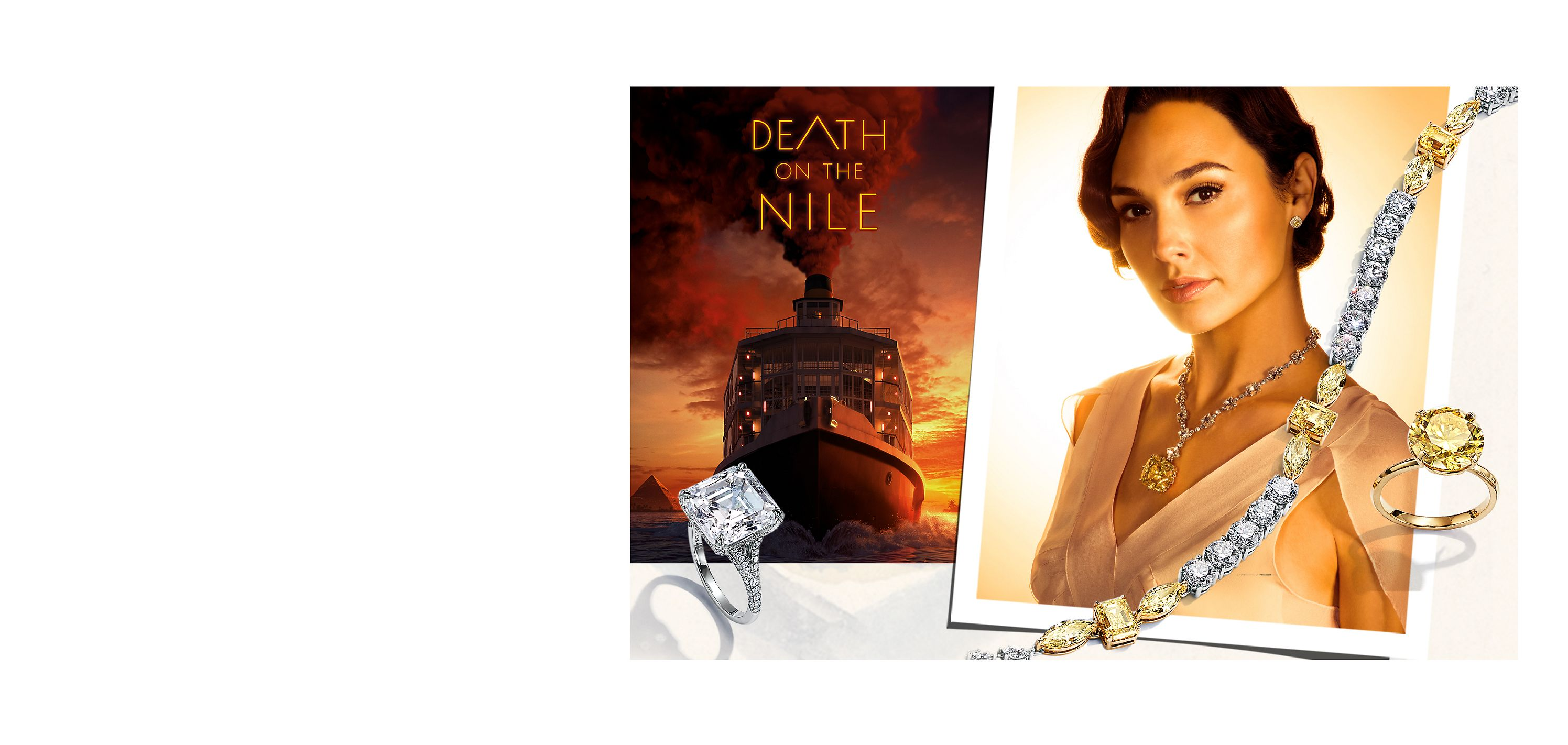 Discover Tiffany High Jewelry in 20th Century Studios' Death on the Nile