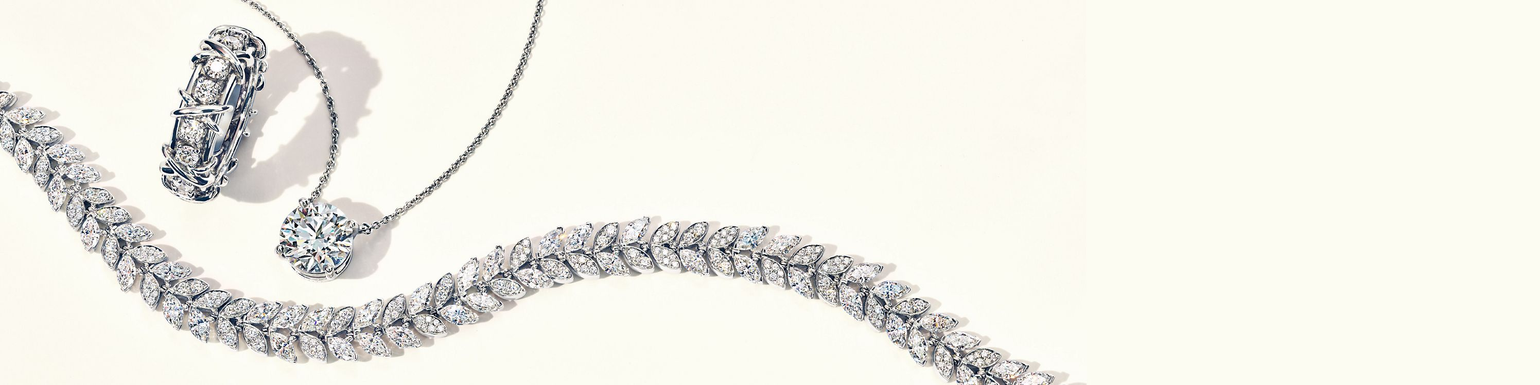 Gioielli di diamanti Tiffany & Co.