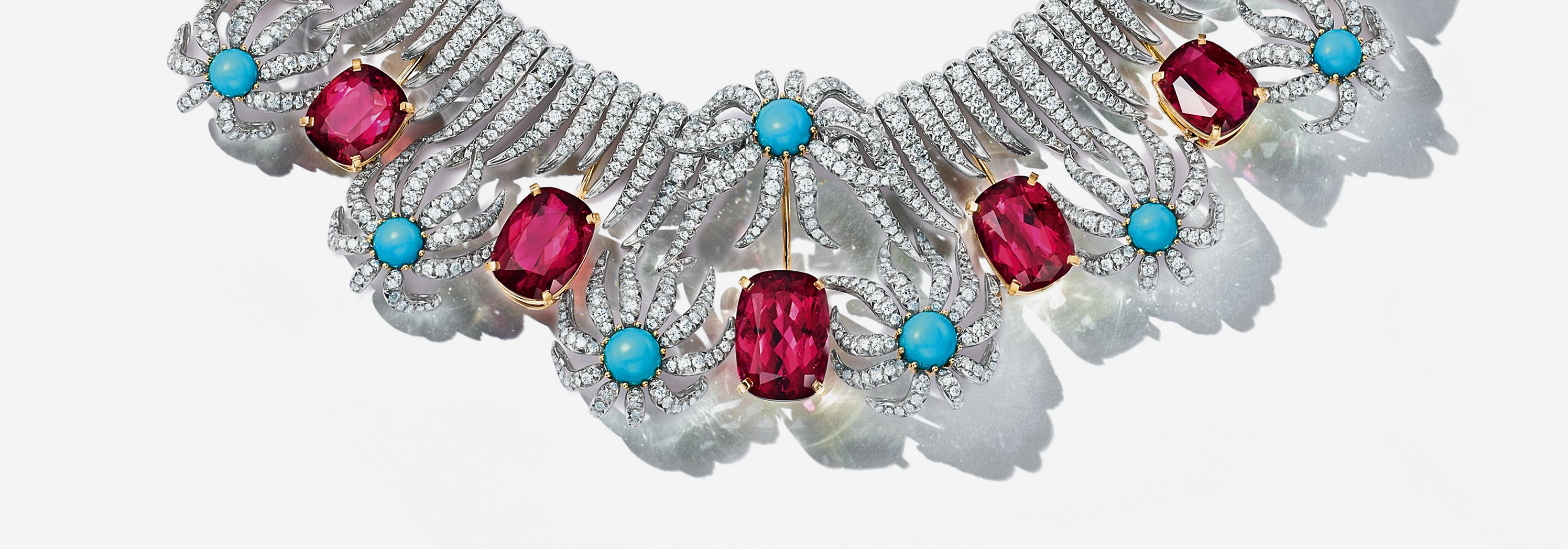 Collar de setos e hileras de Tiffany & Co. Schlumberger