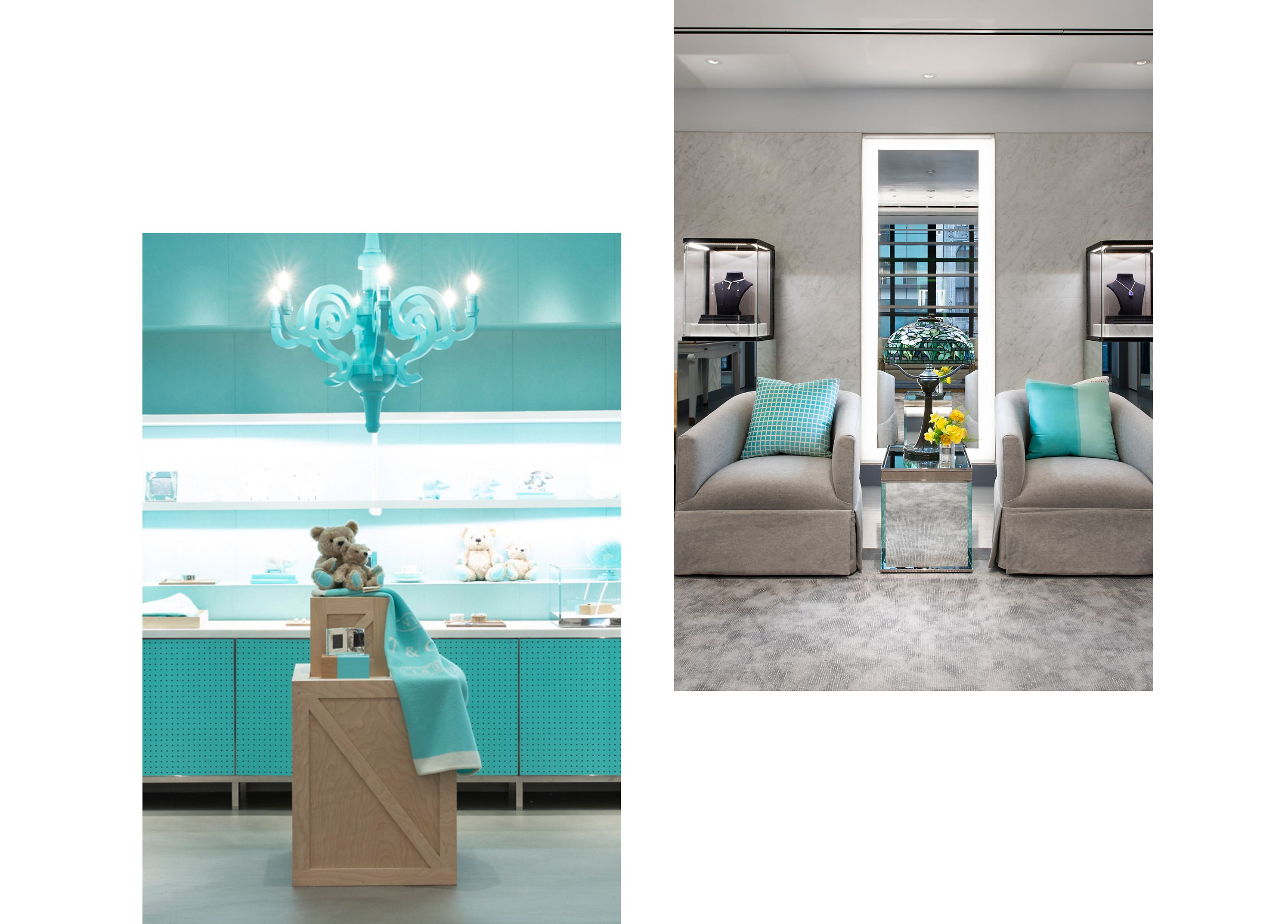 Exklusive Produkte des Tiffany & Co. Flagship Next Door Store