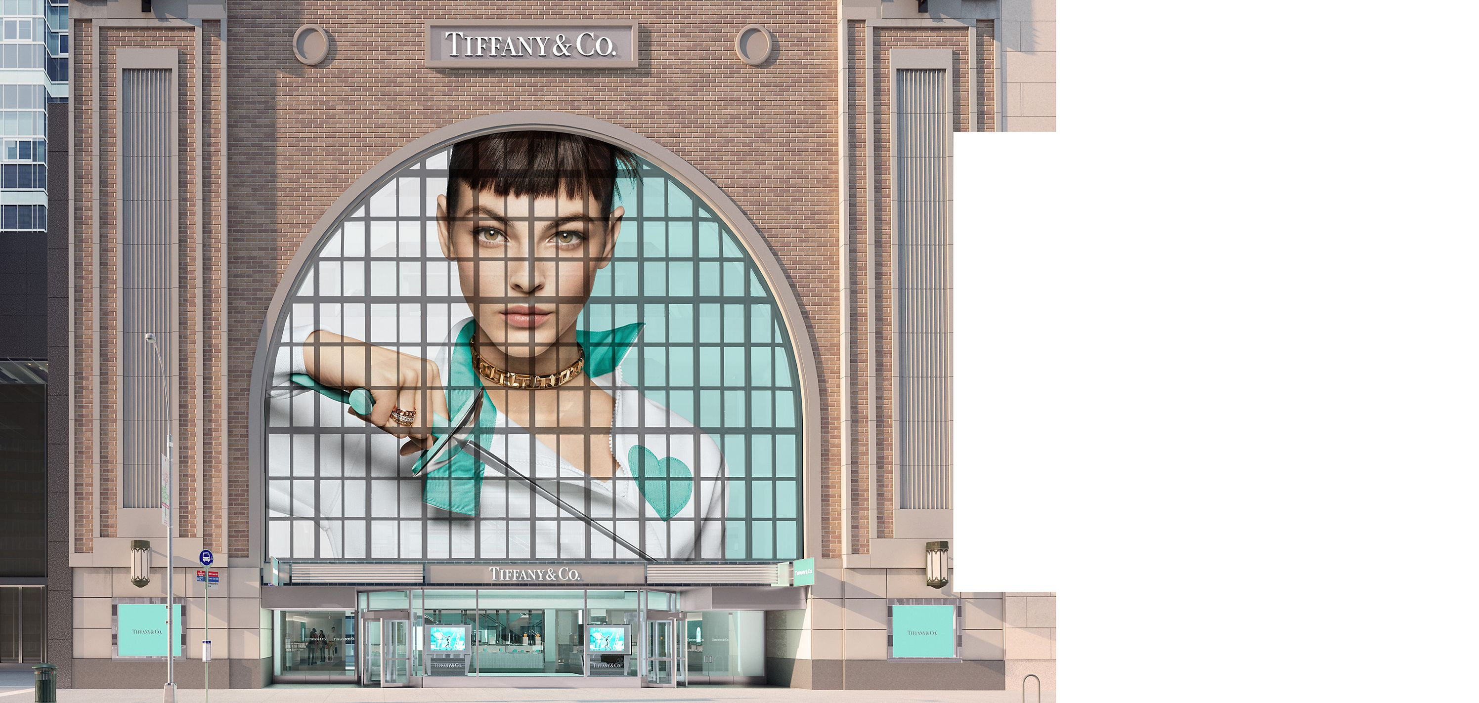 Besuchen Sie den Tiffany & Co. Flagship Next Door Store