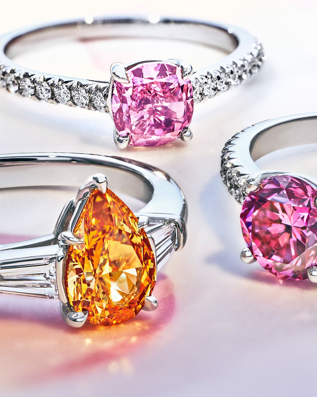 Discover Tiffany & Co. Rare Fancy Color Diamonds