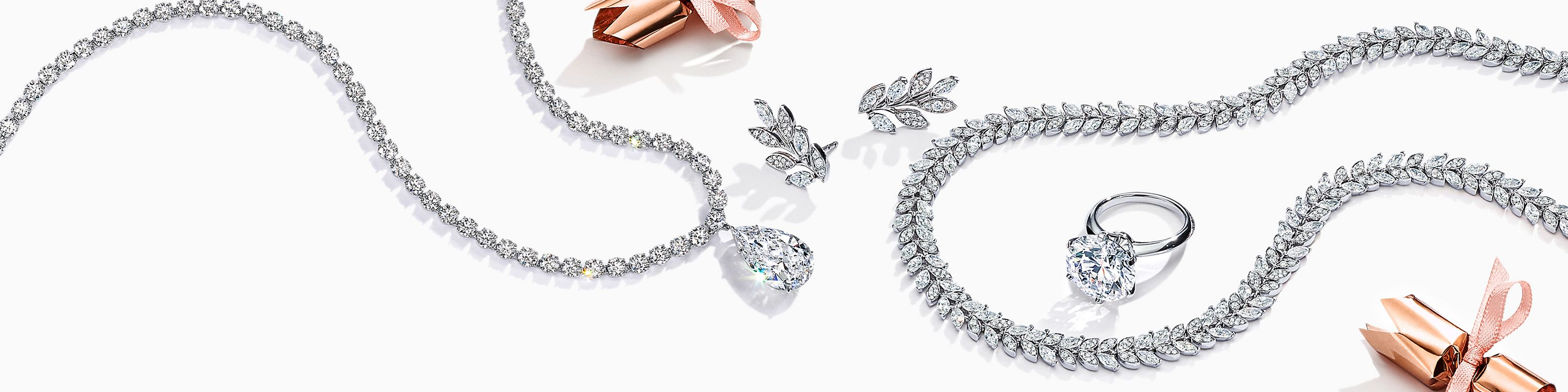 Joyas de diamantes de Tiffany & Co.