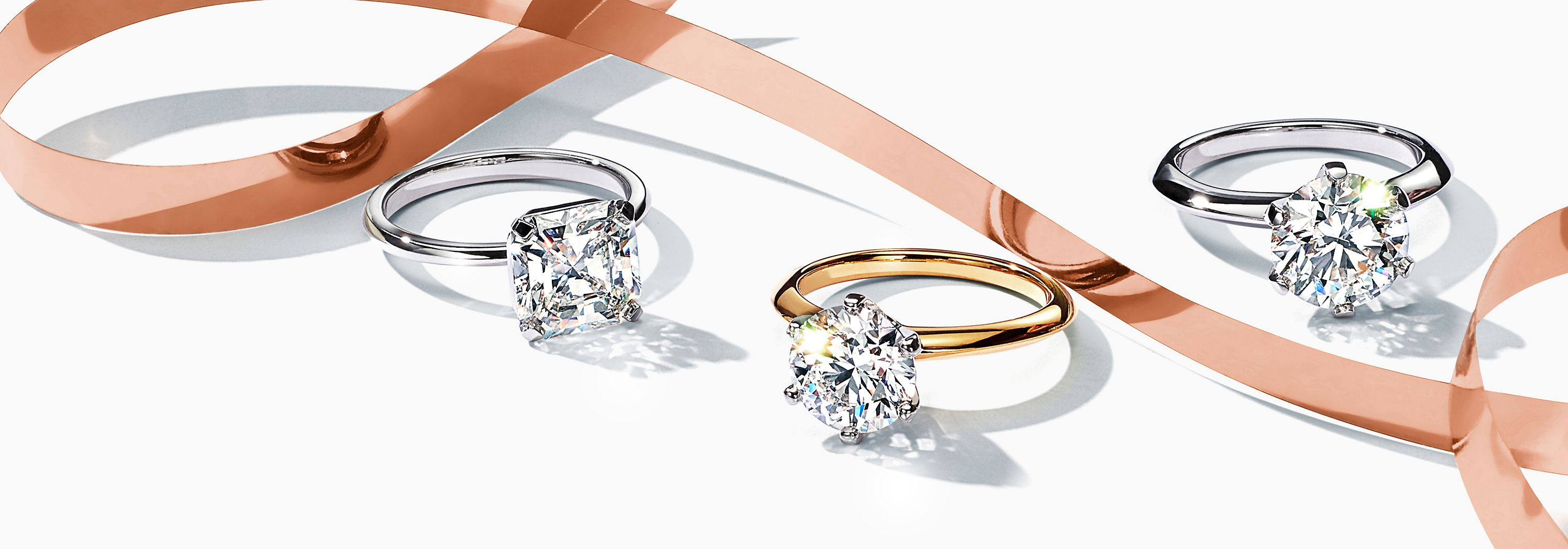 Tiffany True and Tiffany® Setting Engagement Rings