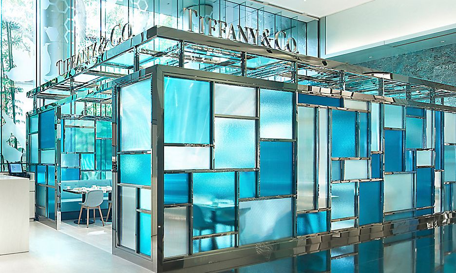 Make a Reservation at Tiffany Blue Box Cafe at One Peking Road