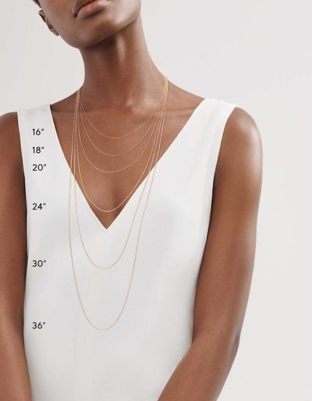 736c7a16341 Necklaces vary by length and can be chosen to reflect personal preference  or style.