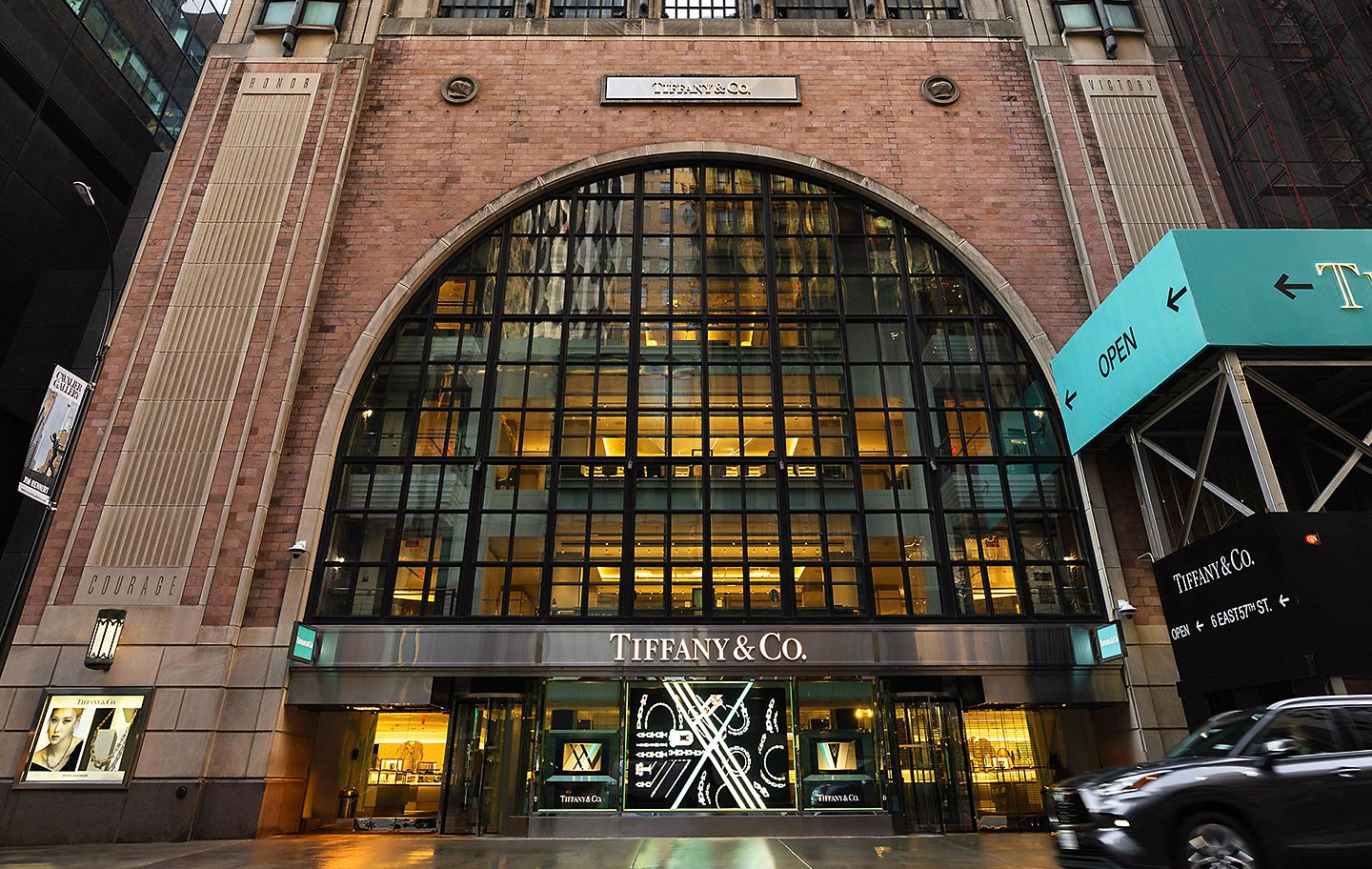 Tiffany & Co. Flagship Next Door