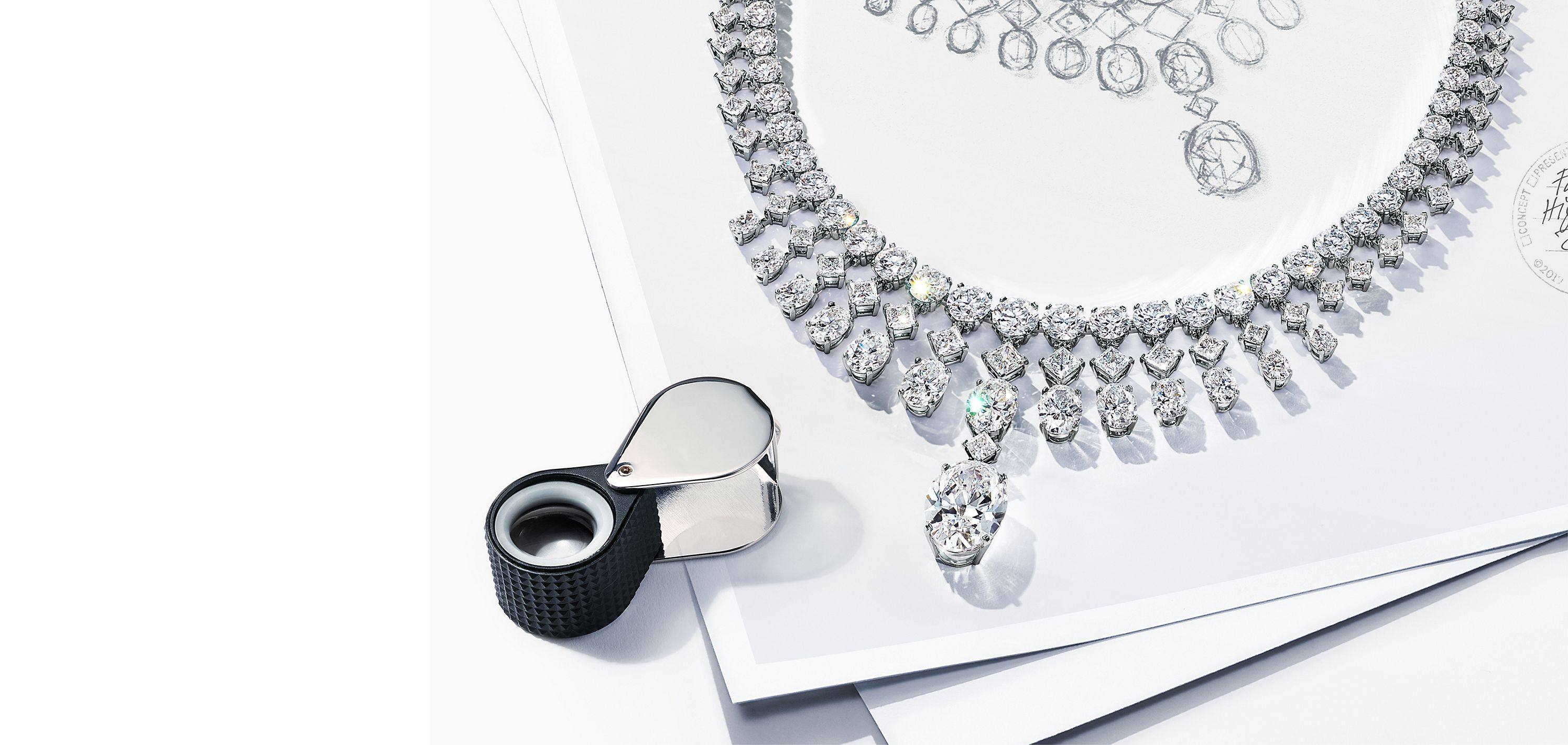 Diamond Necklace from the Tiffany High Jewelry Collection Fall 2020