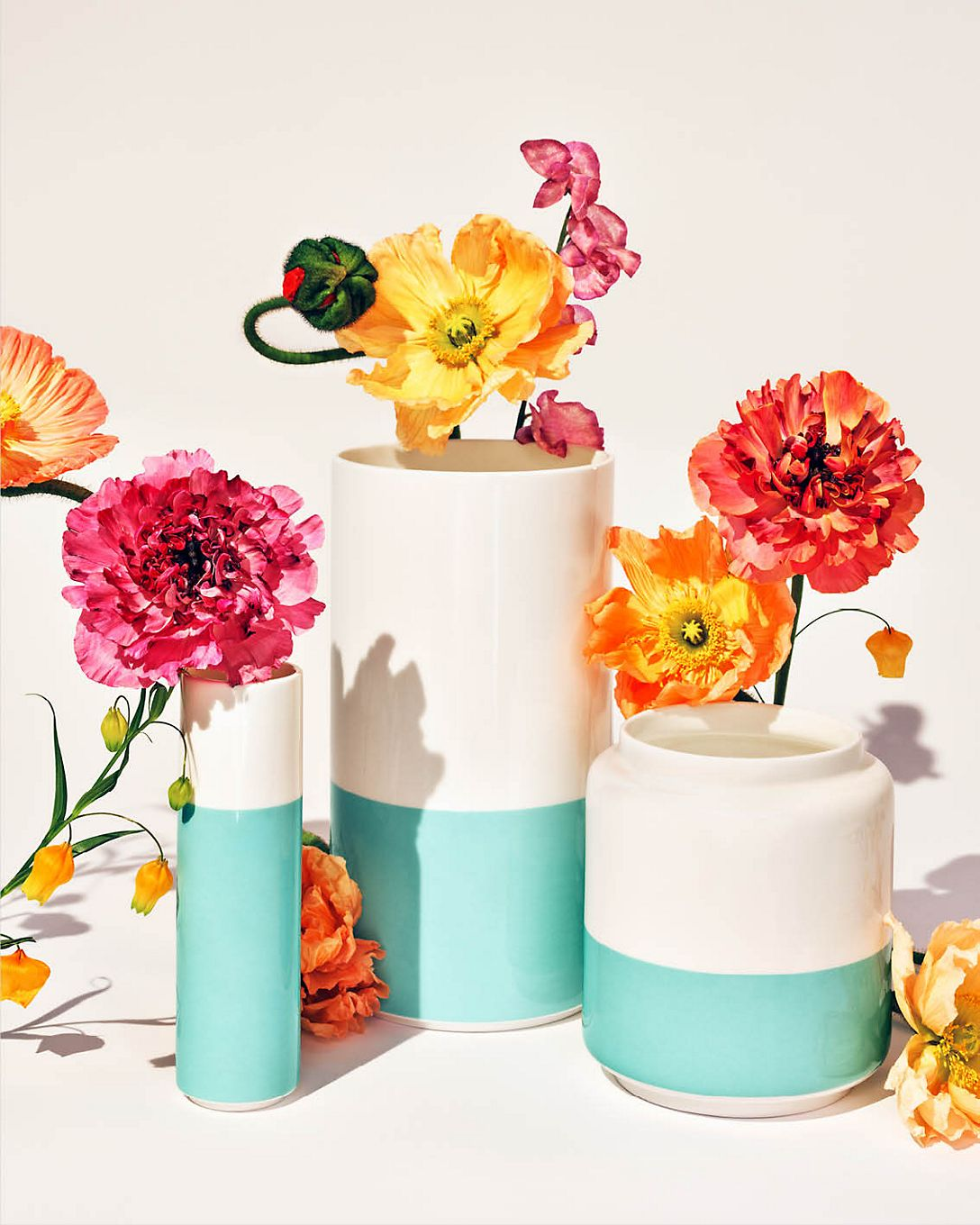 Shop Tiffany & Co. Color Block Vases