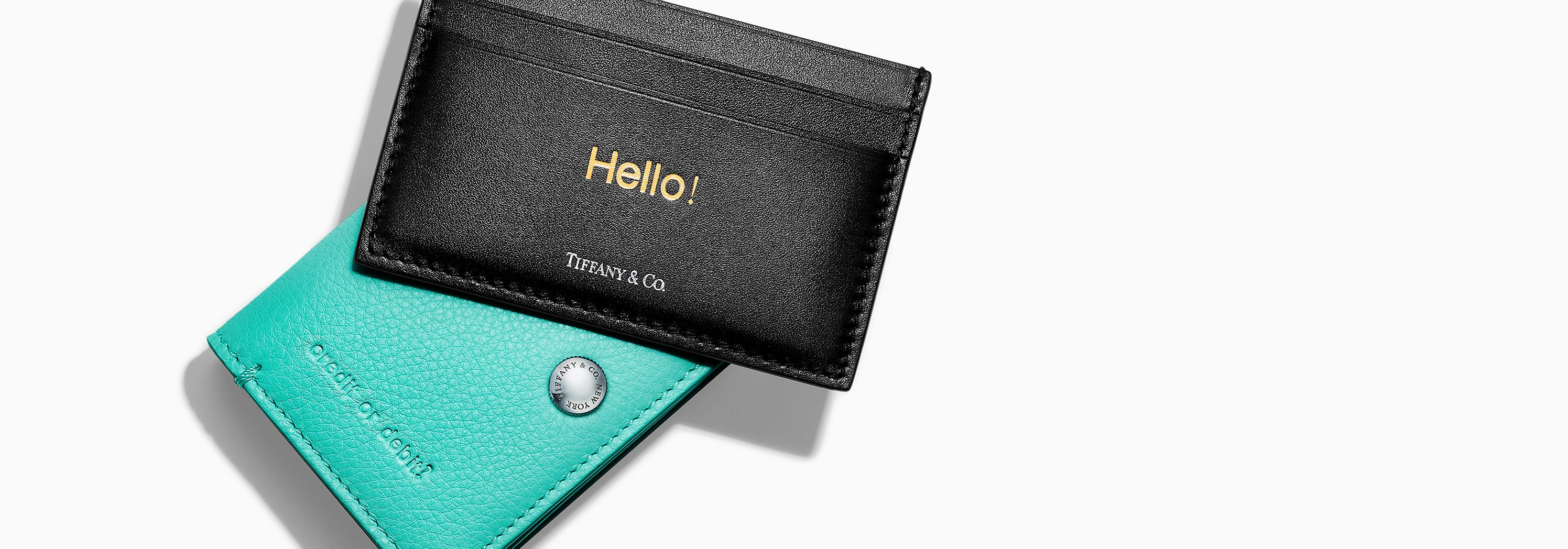 Tiffany & Co. Emboss Small Leather Goods