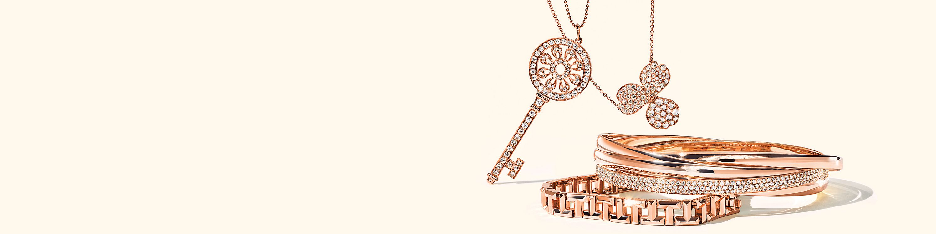Tiffany & Co. Rose Gold Jewellery