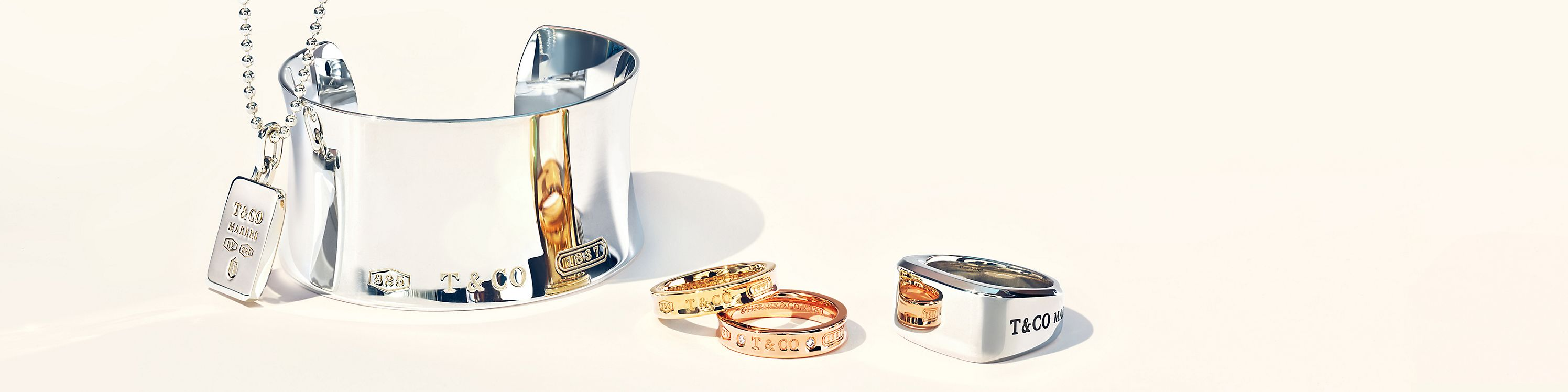 Tiffany & Co. Statement Silver Jewellery