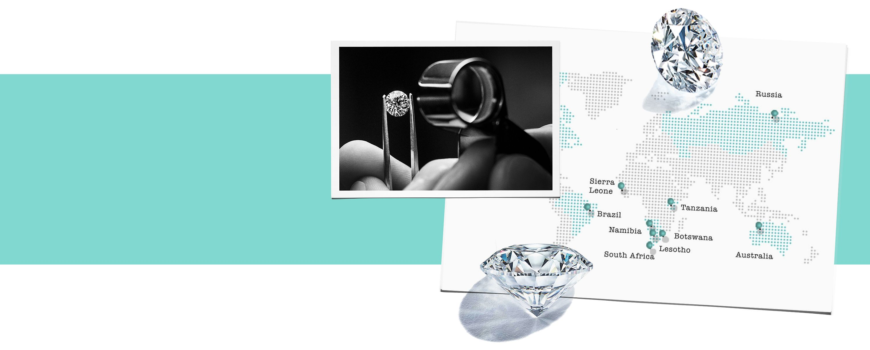 Tiffany & Co. Compra de diamantes