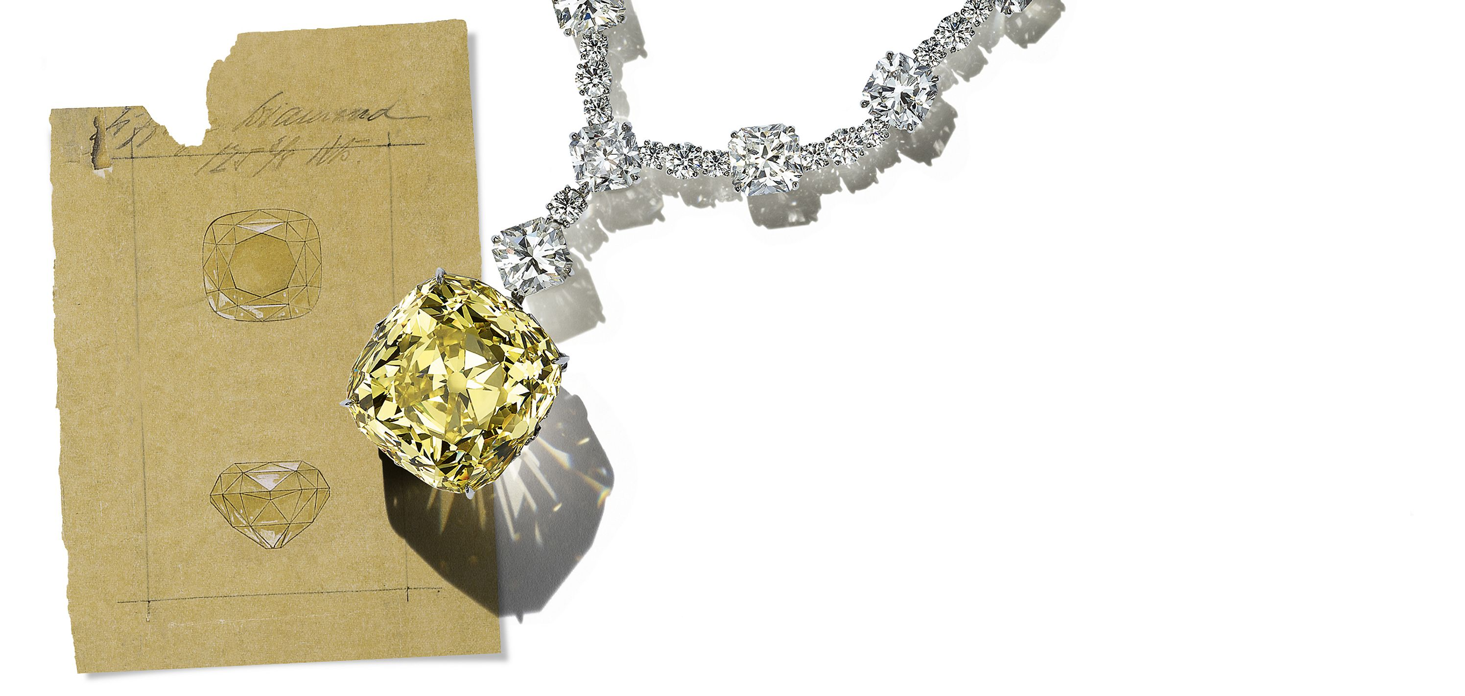 Discover the Tiffany Yellow Diamond Story