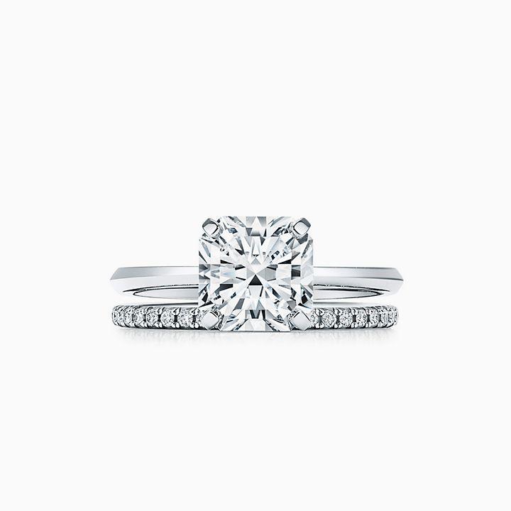 Tiffany True Engagement Ring With A Tiffany True Diamond In Platinum