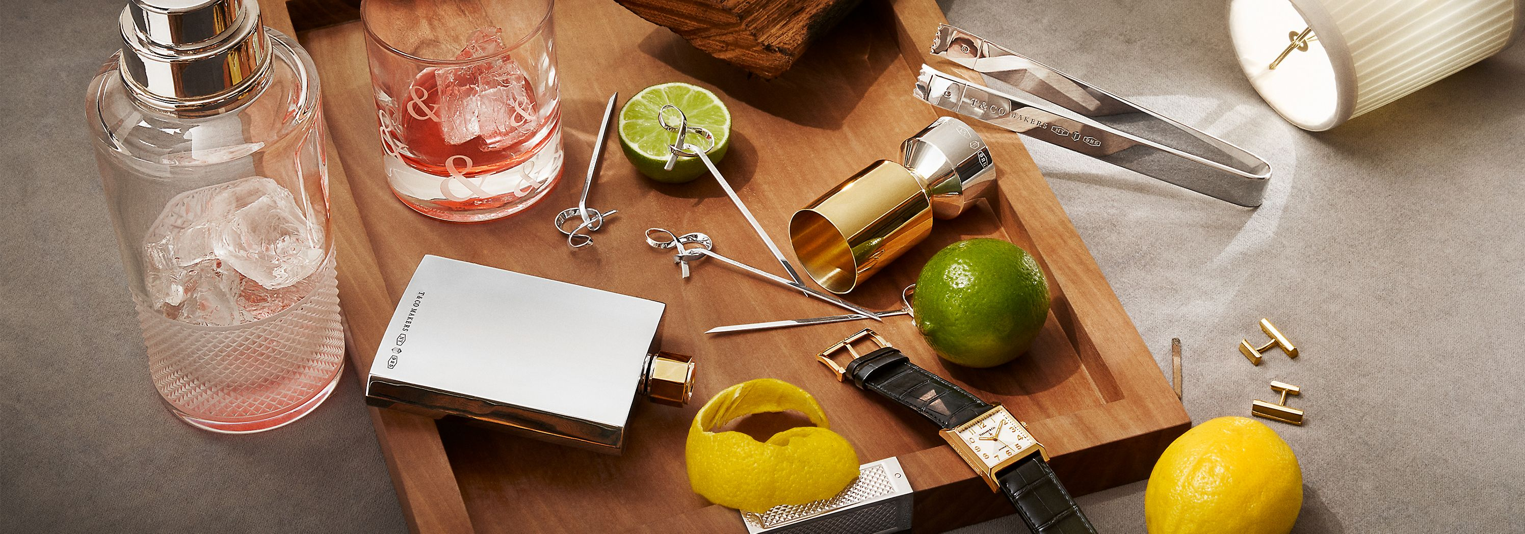 Tiffany & Co.'s Bar & Cocktail Essentials