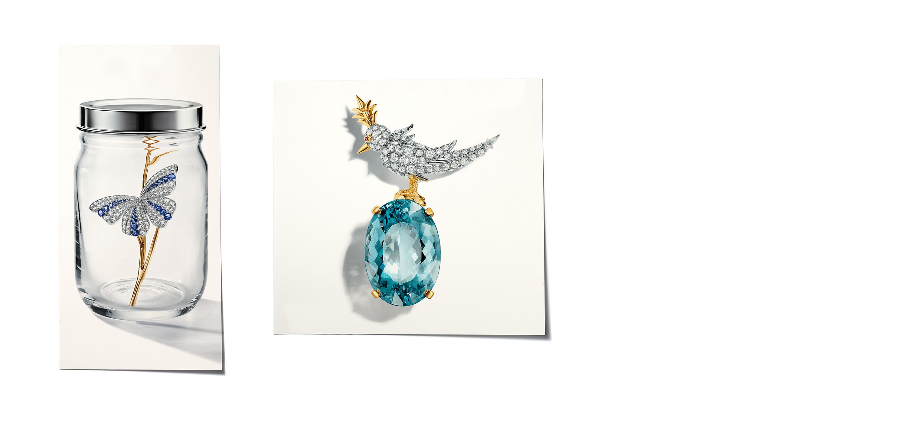 Tiffany & Co. Sapphires, Aquamarines, Moonstones, Tanzanites and Blue Diamonds